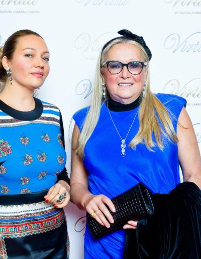 Катерина Виртути и Татьяна Михалкова